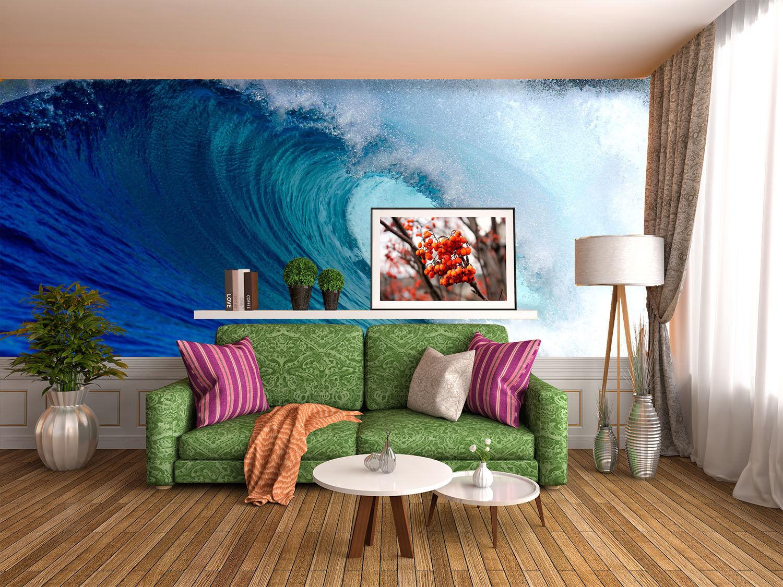 3D Schöne Wellen 863 Tapete Wandgemälde Tapete Tapeten Bild Familie DE Summer