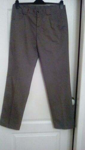 34 Parker Harvey a Leg Taglia Parker dritta Kaki Harvey Straight Size 34 Jeans Khaki Jeans gamba 0q4R5BBw