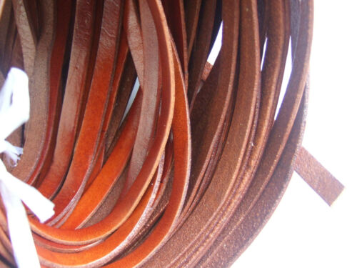 Brown 8mm//10mm Flat High Quality Available Thong Leather Cord Jewellery Making