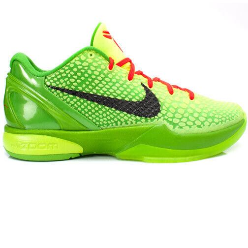 Size 10.5 - Nike Zoom Kobe 6 Grinch 2010 for sale online   eBay