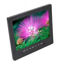 "8"" Color LCD HD Monitor Screen VGA BNC Video Audio for PC,CCTV Camera,VCD,DVD"