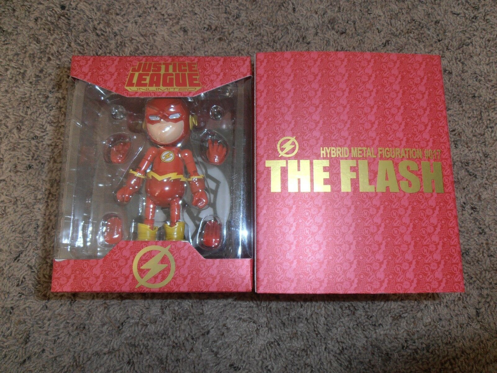 THE FLASH HYBRID METAL FIGURATION  017 herocross JUSTICE LEAGUE UNLIMITED new