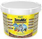 TetraMin Flakes 10l / 2100g Bucket Tetra Tropical Fish Food Fast DISPATCH