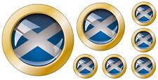 Kfz-Aufkleber Flagge Schottland Set KA