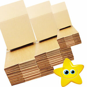100 - 9 x 6 x 6 / 229 x 152 x 152 mm STRONG SINGLE WALL CARDBOARD BOXES FREE 24h 3489602460561