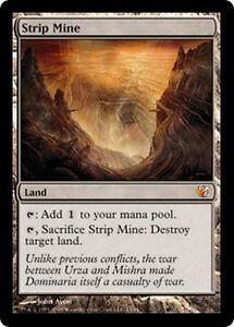 Mine-des-Morts-Terrains-FOIL-PREMIUM-FTV-Exiled-Strip-Mtg-From-the-vault