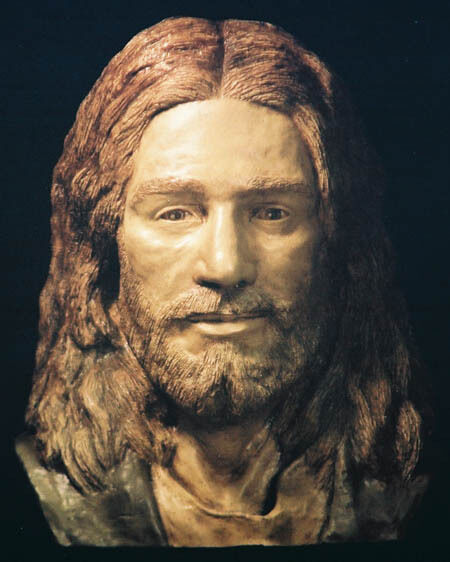 JESUS life size SCULPTURE made from the measurements of the shroud of Turin