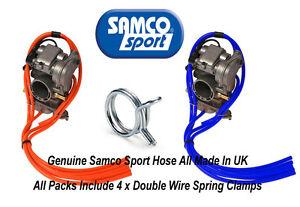 KTM-250-SXS-Samco-Silikon-Vergaser-Ventil-amp-Unterdruckschlauch-Pack-amp-Klemmen