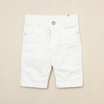 NWT Eliane et Lena //One Up grey boys Bermuda linen shorts 5y 6y 8y 10y 12y 46P02
