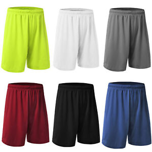 Men-Basketball-Shorts-Wear-Sport-Casual-Pants-Running-Football-Fitness-Loose