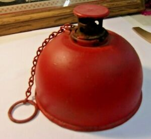 Vintage-Red-DIETZ-Road-Flare-No-750-Red-Smudge-Pot