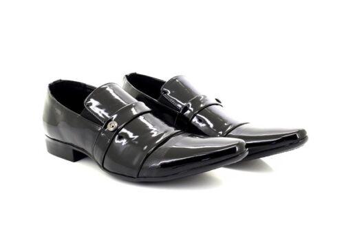 Dave Classique Noir Chaussures Motif Soirée Mariage De Hommes À Enfiler Designer UdPqUw