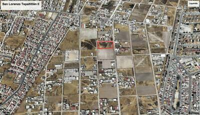 Terreno en venta San Lorenzo Tepaltitlan, Toluca