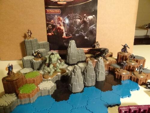 Heroscape - Battle for the Underdark -  D&D Master Set 3 - 100% Complete