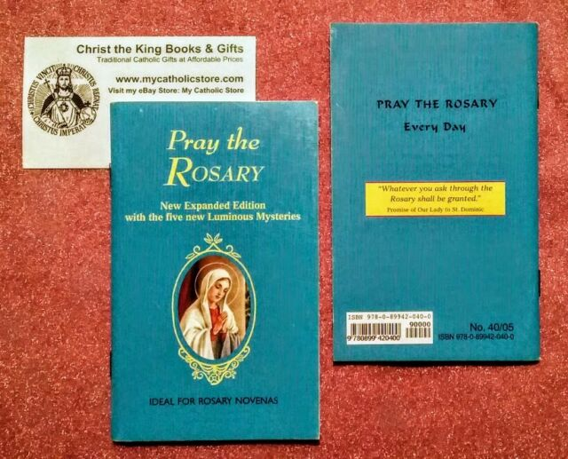 image about Luminous Mysteries of the Rosary Printable called PRAY THE ROSARY BOOKLET-Refreshing EXPANDED Model w/LUMINOUS MYSTERIES As a result of FR. LELEN