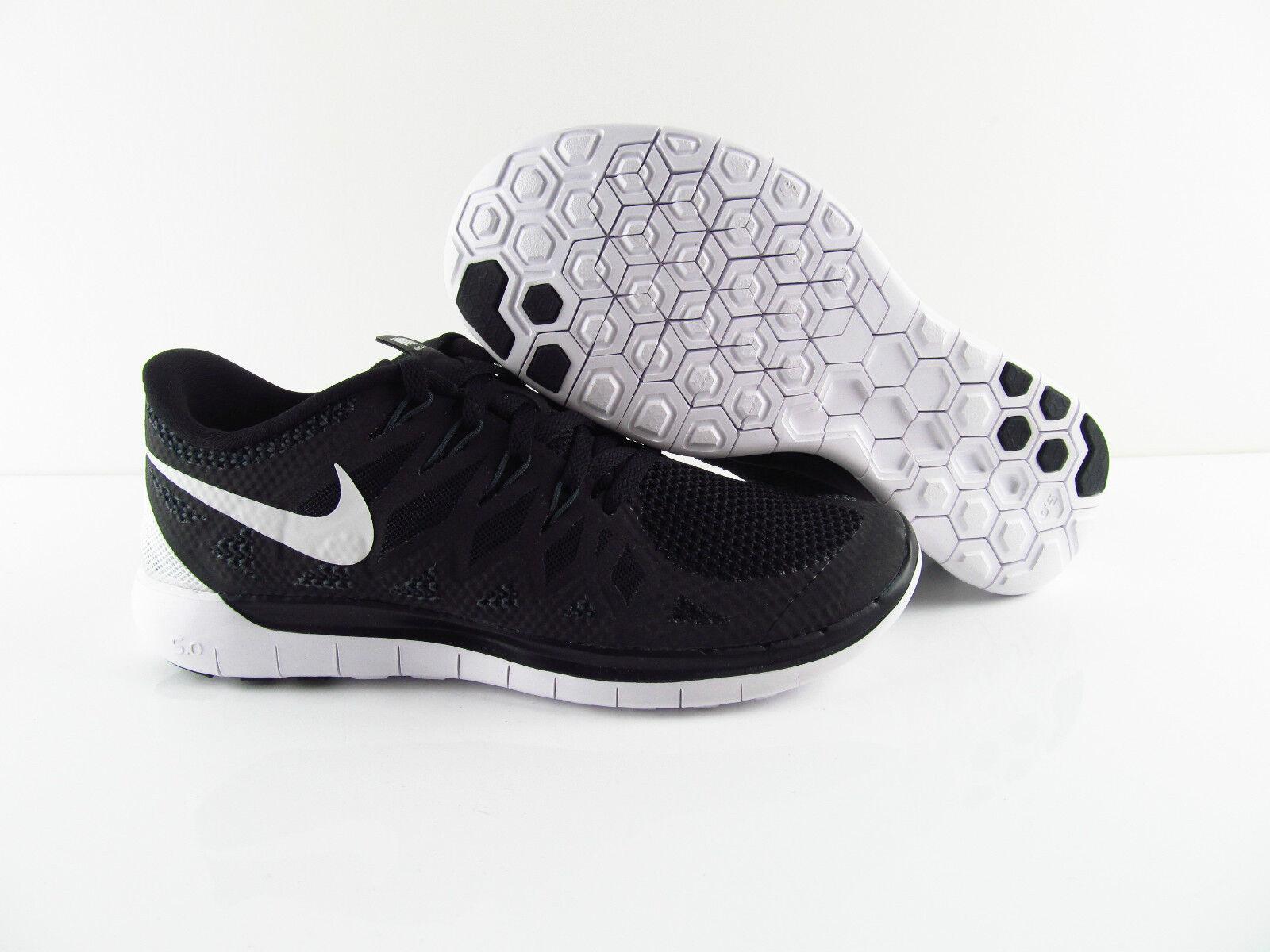 Nike Free 5.0 Damen Schwarz Grau Running Bearfoot US_6.5 7 EUR_37.5 38