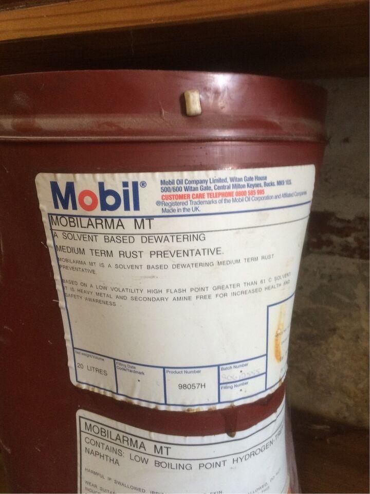 Rust og korrosionsbesk.