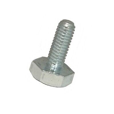 2-011 M10 x 1.25 x 20mm LH Left Hand Thread Hex Bolt Brush Cutter Blades