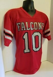 Details about Vintage RAWLINGS Steve Bartkowski Atlanta Falcons NFL Football Jersey Medium