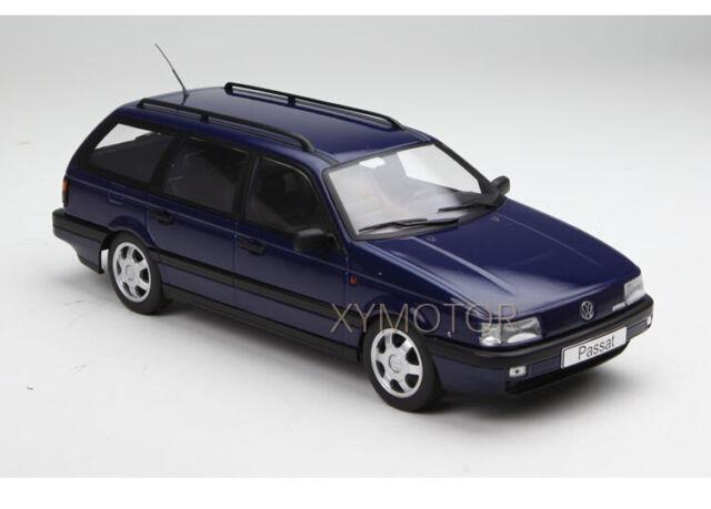 metallic-schwarz 1:18 KK-Scale VW Volkswagen Passat B3 VR6 Variant 1988