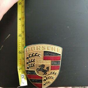 1987-1988 Porsche 924 Emblem 39282KF 1978 1979 1980 1981 Emblem For 1977-1982