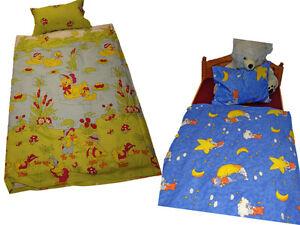 2-teilige-Renforce-Kinder-Bettwaesche-100-x-135-cm-Bettgarnitur-Baumwolle