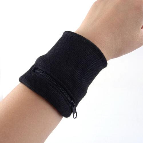 Wrist Wallet Pouch Band Zipper Running Travel Gym Cycling Safe Sport Bag
