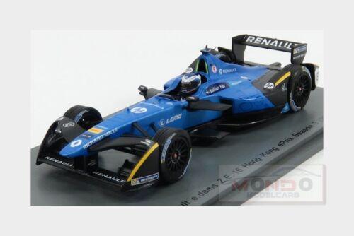 Renault Formula-E Z.E.16 #9 Hong Kong Gp 2016-2017 N.Prost SPARK 1:43 S5921