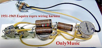 compatible with fender esquire 1950 1952 reproduction wiring harness ebay Kenwood Car Stereo Wiring Harness