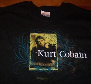 KURT-COBAIN-NIRVANA-T-Shirt-SMALL-2005-NEW