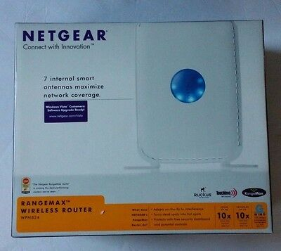 Netgear WPN824NA 108 Mbps 4-Port 10/100 Wireless G Router (RP-WPN824NA)