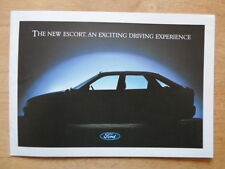 FORD ESCORT MK5 orig 1990 UK Mkt launch sales brochure