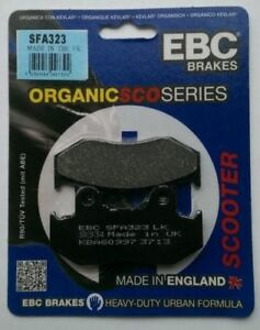 Honda-PES125-PS125-2006-to-2009-EBC-Organic-FRONT-Disc-Brake-Pads-SFA323