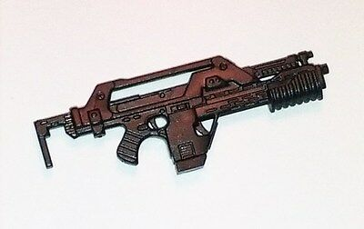 """NCM mkII Pulse Rifle w/ Ammo Mag -1:18 Scale Weapon for 3-3/4"""" Action Figures"""