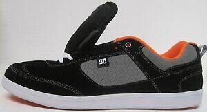 DC-Lennox-SM-Skate-Shoe-Men-039-s-Black-Wild-Dove-size-10-5-amp-11-m-us
