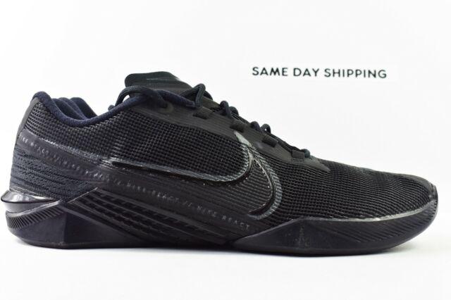 Nike React Metcon Turbo (Mens Size 10) Training Shoes CT1243 002 Triple Black