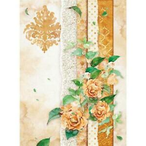 Decoupage Stamperia 1 x A4 Size Sheet Rice Paper Rose Garden