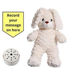 Importé De L'éTranger Record Bébé Heartbeat Ourson - Duveteux Crème Bunny 25cm/25.4cm - Douche Cadeau Prix Raisonnable