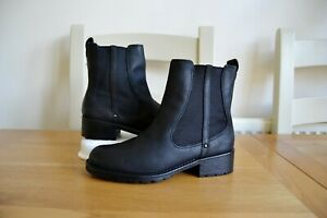 CLARK-S-ARTISAN-034-ORINOCO-CLUB-034-BLACK-SNUFF-LEATHER-ANKLE-BOOTS-UK-4D-RRP-75-00