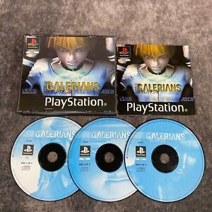Galerians-ps1-Playstation-1-PAL-Game-komplett-Big-Box-seltene-Survival-Horror