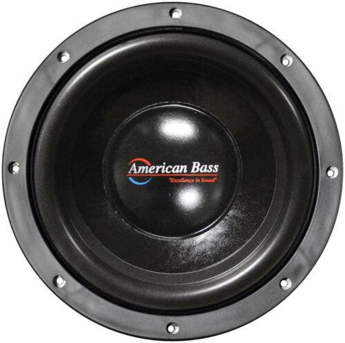 "American Bass XD1044 10/"" Woofer 900W Max 4 Ohm DVC"