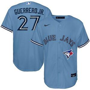 Youth Toronto Blue Jays Vladimir Guerrero Jr. Powder Blue Alternate 2020 Jersey