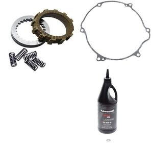Kawasaki KX250 1992–2004 Tusk Clutch Kit w// Springs /& Clutch Cover Gasket
