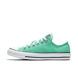 Tableta distancia pantalones  Converse Chuck Taylor All Star Ox Menta Green Sneakers Shoes Canvas 155737F  | eBay