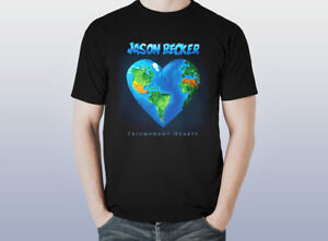 Jason-Becker-TRIUMPHANT-HEARTS-Music-T-Shirt-MEN-Black