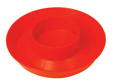 Little Giant 740 Red Screw On Poultry Waterer Base 1 Qt
