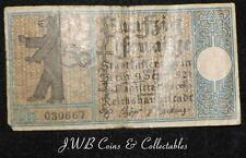1921 Germany 50 Pfennig Note