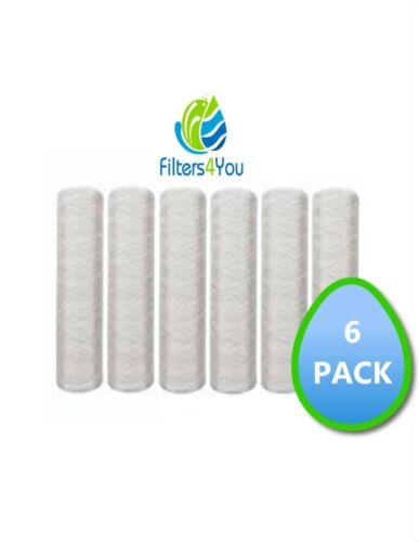 6 1C9-30 Campbell Water Filters 2 Micron Activated Carbon Sediment Cartridges