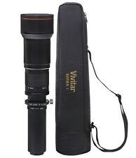 Vivitar 650-1300mm f/8-16 Telephoto Lens for Nikon D5100 D7000 D3100 D3000 D3