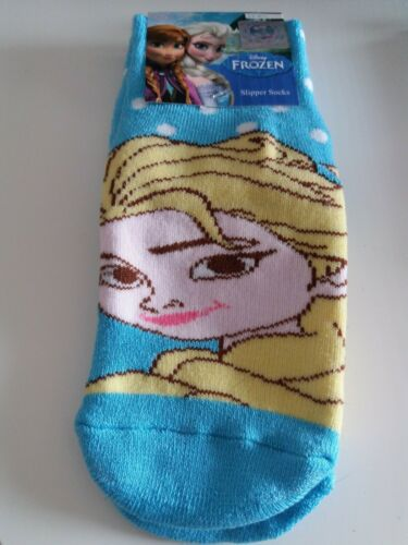 Disney Frozen elsa Slipper Socks Bnwt Size 9-11.5